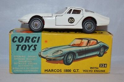 CORGI TOYS  324    Marcos 1800 G.T. with Volvo engine.