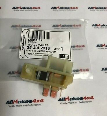 Allmakes Land Rover Defender or Series Wiper Motor Park Switch  LR057182