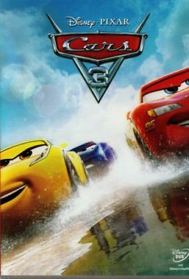 CARS 3 DISNEY PIXAR DVD film NUOVO italiano