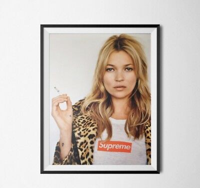 Supreme Kate Moss A3 Poster Cheapest On eBay