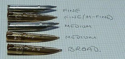 One Parker 51 NIB ENGLAND USED CONDITION F/>B 14ct Gold Updated 24th May