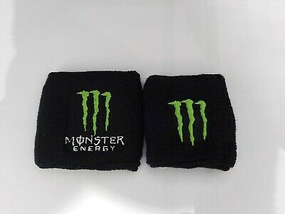 Monster Energy Reservoir Sock Cover Honda Ducati Kawasaki Yamaha Ktm Suzuki