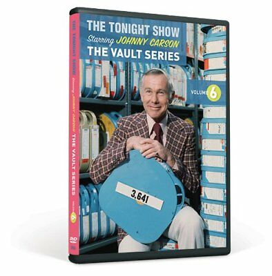 The Tonight Show Staring Johnny Carson The Vault Series Volume 6 Brand New DVD