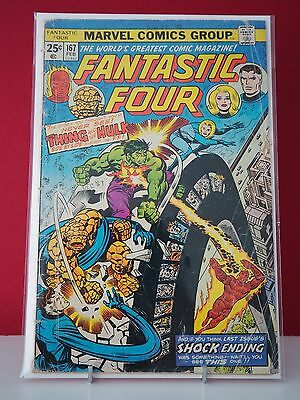 Marvel - Fantastic Four Vol. 1 #167 - Incredible Hulk Appearance