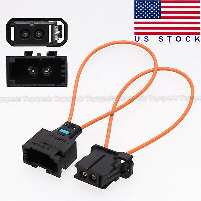 New Most Fiber Optic Loop Bypass Male & Female Kit Adapter For Audi BMW Mercedes