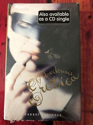 Madonna - Erotica Cassette Single Card Sleeve Made In USA New And Sealed Rare