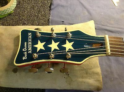 harmony guitar headstock