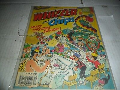 Whizzer and Chips Comic CHRISTMAS ISSUE 30 th DEC 1989