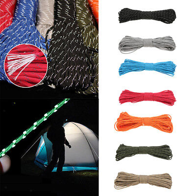Reflective Tent Rope Windproof Guide Rope Guyline Outdoor Traveling Camping