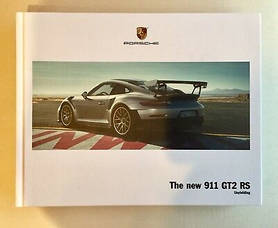 Porsche 911 GT2 RS - Unyielding Hardback Brochure, 96 Color Pages