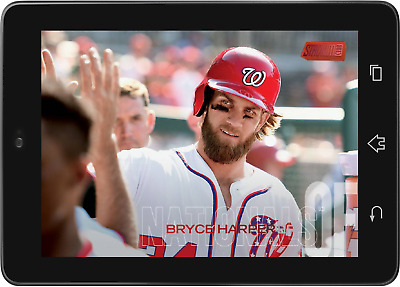 Topps BUNT Bryce Harper SHORT PRINT STADIUM CLUB 2018 D1 [DIGITAL CARD]