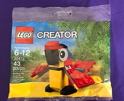 Lego Creator 30472 Mini Parrot Poly bag Set With Original Instructions