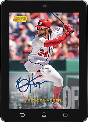 Topps BUNT Bryce Harper BASE SIGNATURE STADIUM CLUB 2018 [DIGITAL CARD]