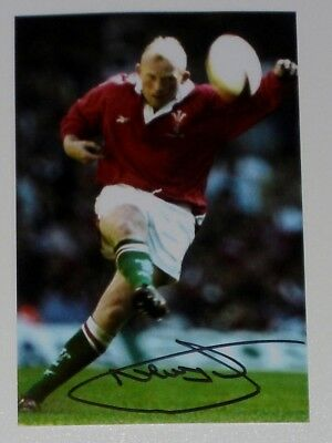 Neil Jenkins Wales Rugby Personally Hand Signed Autograph Photo