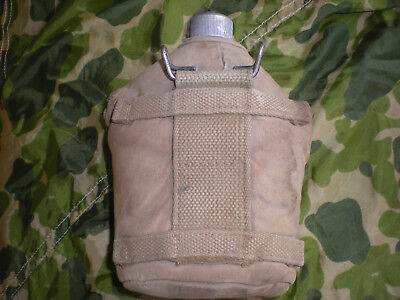 WW2 OD#3 M-41 Reinforced AIRBORNE PARATROOP CANTEEN COVER 1942 CANTEEN, 1944 CUP