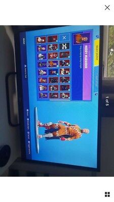 Fortnite Account with Christmas skins and others