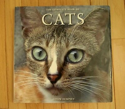 """Cocktail Table """"The Complete Book of CATS"""" Hardback Book"""