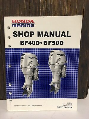 honda bf40 bf50 d model marine outboard service repair shop manual rh picclick com honda bf 25 d service manual bf25a service manual