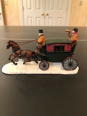 """Dept 56 Heritage Village Collection """"Dover Coach"""""""