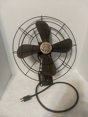 RARE Antique General Electric Fan Cat. 95 X 511 Spec. 273048-1 Working!