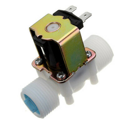 Solenoid Valve Pneumatic DC 12V Electric 0.02 - 0.8Mpa G3/4  Normally Closed