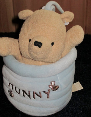Classic Winnie The Pooh In Hunny Pot Musical Crib Toy-Plays Winnie The Pooh