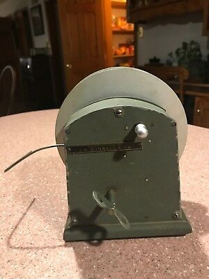 J H Bunnell & Co  Teletype-Mechanical Tape Winder