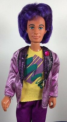 Rare Vintage Jem and the Holograms Doll Rio W/ Outfit 1985 Hasbro