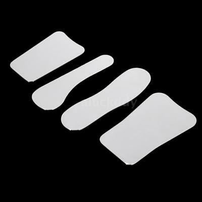 1 Set 4Pcs Stainless Steel Dental Photography Mirror Orthodontic Intra-oral V4T5