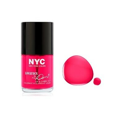 001 Cheeky Pink Nyc New York Color Lip Cheek Tint Stain Lovatics Demi Lovato Ret