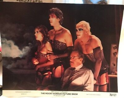 VINTAGE ROCKY HORROR PICTURE SHOW 1975 11x14 LOBBY CARD # 1 OF 8 CULT FAVE PRINT