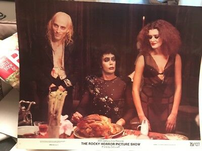 VINTAGE ROCKY HORROR PICTURE SHOW 1975 11x14 LOBBY CARD # 6 OF 8 CULT FAVE PRINT
