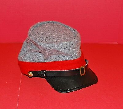 Civil War Reenactor's Confederate Artillery Kepi, Size Small, Child's?