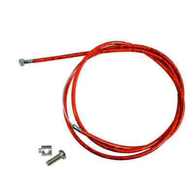 Red Throttle Clutch Cable Line Clutch Cable Lock For 66cc 80cc Motorized Bike