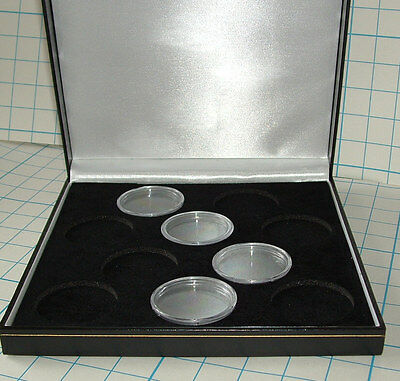 Case for 10 x 2 oz Silver Queen's Beasts Coins INCLUDING CAPSULES