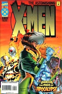 ASTONISHING  X--MEN   [Marvel  -  Mar  1995}  Age of Apocalypse   ##1  and  ##4