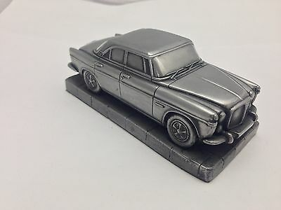 Rover P5 Coupe 1.43 Scale Pewter Effect Model Car Handmade In Sheffield
