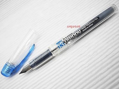(Tracking no.) 10 x Platinum Preppy 0.3mm Refillable Fountain Pen, Blue-Black