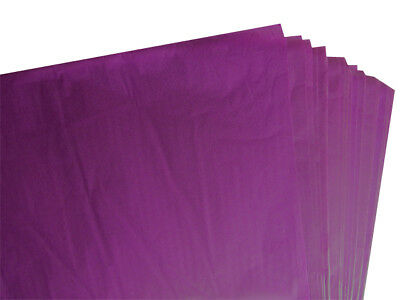 Purple Acid Free Tissue Wrapping Paper Size 450 X 700Mm 18 X 28""