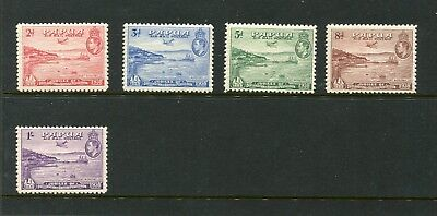 Papua 1938 Anniv Of Brit Possession Set 5