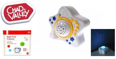 Baby LED Projector With Songs Sounds & Lights Chad Valley Brand New