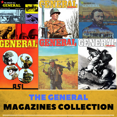 The General Magazine Collection-189 Issues - Data DVD - Wargames History Tactics