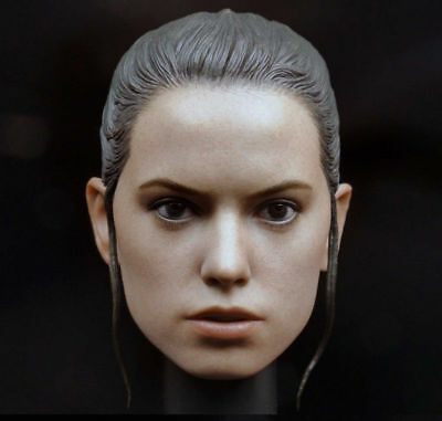 "1/6 Woman Head Daisy Ridley Rey Sculpt Model F 12"" Female Body Action Figure Toy"