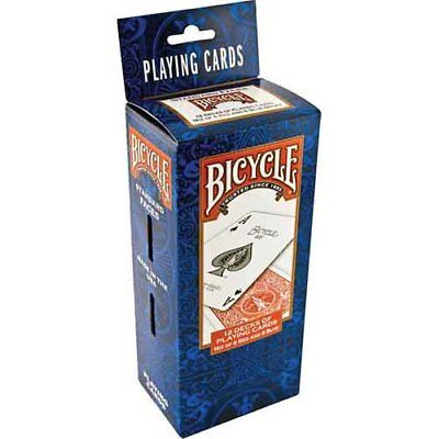 BRAND NEW 1 Dozen / 12 Decks Bicycle US Standard Playing Cards Card Sealed Poker