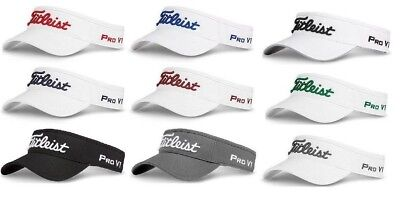 NEW 2018 TITLEIST TOUR LOW PROFILE PERFORMANCE GOLF VISOR ... dee38535875