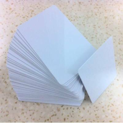 RFID cards 13.56Mhz ISO/IEC15693 NXP ICODE SLIx white PVC cards
