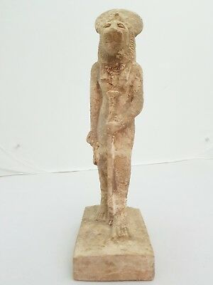 XX Large ANCIENT EGYPTIAN ANTIQUE SEKHMET STATUE Egypt Gods 1390-1352 BC