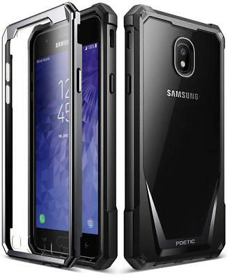 "Poetic Guardian ""Rugged Heavy Duty"" Case For Samsung Galaxy J3 / J3 Star Black"