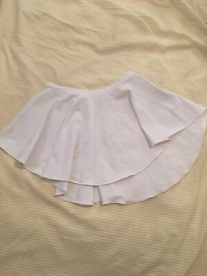 Ballet White SAB style skirt - High Leg (like Bullet Pointe Skirt)