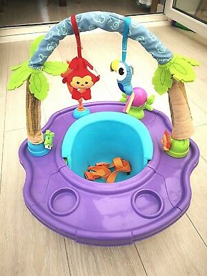 Summer Infant Super Seat 3 stage Island Giggles feeding floor booster snug